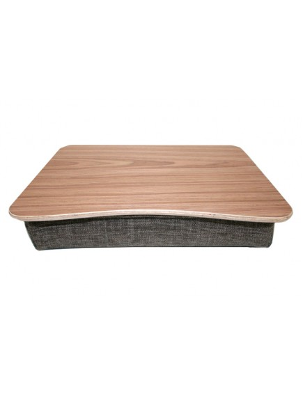 Lak-Daro Wooden Lapdesk Mobile workplace lap tray   black brown